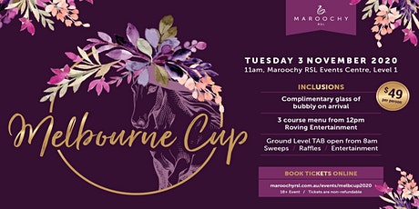 Melbourne Cup 2020 tickets