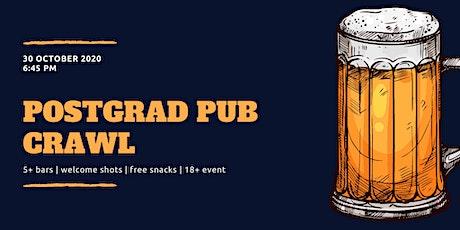 Postgrad Pub Crawl tickets