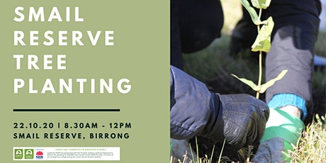 Smail Reserve Tree Planting tickets