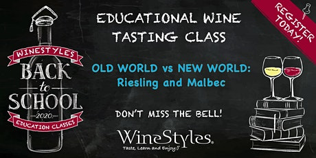 Back to School 'Virtual' Wine Education Class tickets