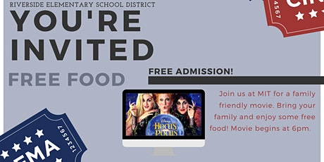 Riverside School District Movie Night tickets