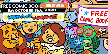 Free Comic Book Halloween at Impact Comics tickets