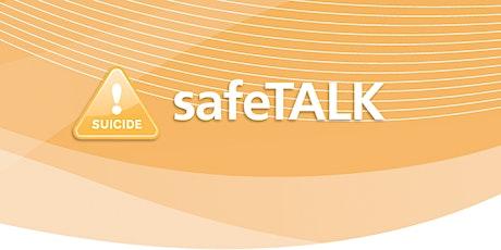 LivingWorks safeTALK. Suicide Alertness for Everyone. tickets