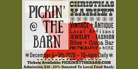 Pickin' @ The Barn Christmas Market tickets