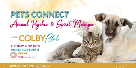 Pets Connect-Animal Psychic & Spirit Messages-ONLINE tickets