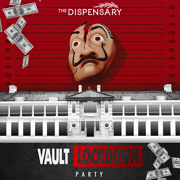 """Vault Lockdown Party"" - The Dispensary Halloween Party 2020 image"