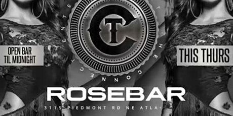 ROSE BAR THURSDAY  - OPEN BAR & FREE ENTRY tickets