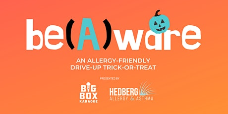 Be(A)ware: An Allergy-Friendly Drive-Up Trick-or-Treat tickets