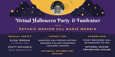 Virtual Halloween Party & Fundraiser with Psychic Medium Jill Marie Morris tickets