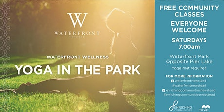 Free Yoga in the Park - Waterfront Newstead tickets