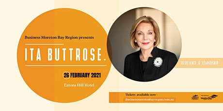 Business Moreton Bay Region presents Ita Buttrose AC OBE tickets