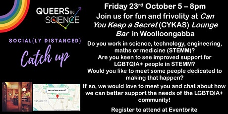 QLD Queers in Science Networking and Drinks at Can You Keep a Secret tickets