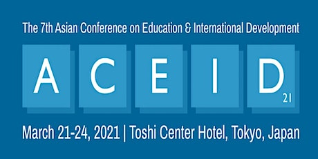The 7th Asian Conference on Education & International Development tickets