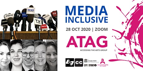Media Inclusive | ATAG  Online 28 Oct 2020 tickets