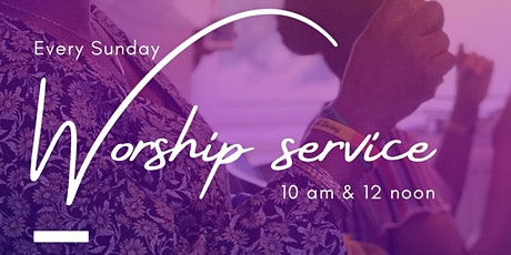 Sunday Worship Service - Morning Service tickets