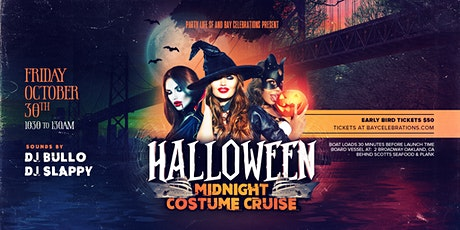 Halloween Midnight Costume Cruise 2020 tickets