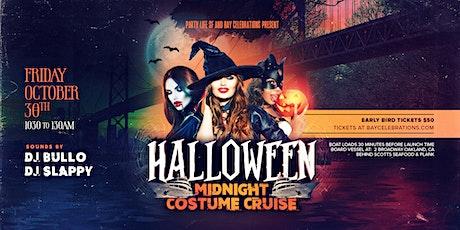 Halloween Midnight Costume Cruise 2020 tickets