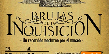 BRUJAS DE LA INQUISICIÓN: Un recorrido nocturno por el museo entradas