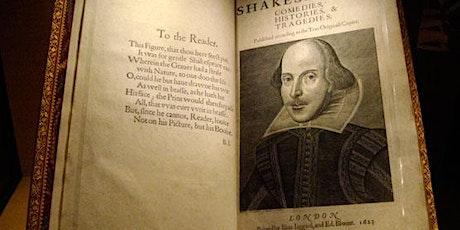 Online Shakespeare Verse Workshop Tickets