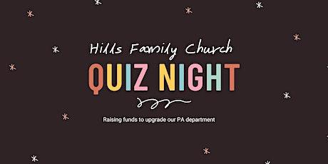 Hills Family Church QuizNight tickets