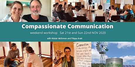 Compassionate Communication Weekend Workshop (Sat 21 & Sun 22 Nov 2020) tickets