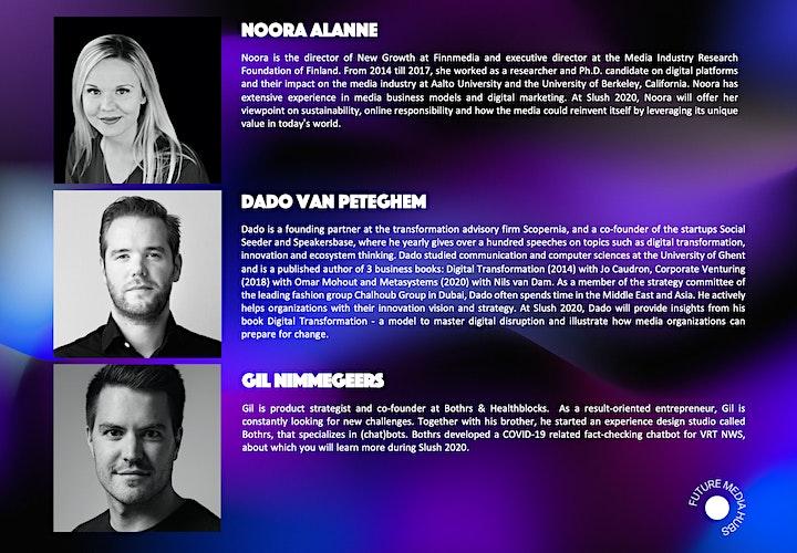 Future Media Hubs presents #MediaRedefined at Slush 2020 image