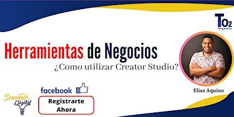 Creator Studio entradas