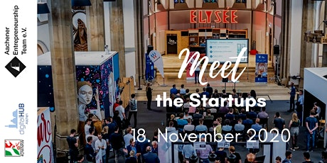 Meet the Startups: Original tickets