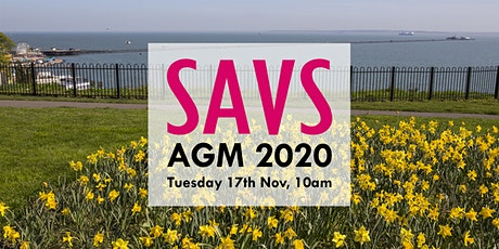 SAVS AGM 2020 tickets