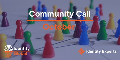 Identity Global Community Call - October 2020 tickets