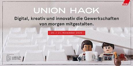 UnionHack 2020 - der Online-Hackathon der Gewerkschaften tickets