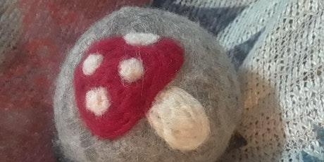 Wool Dryer Ball Workshop: Mushroom Edition tickets