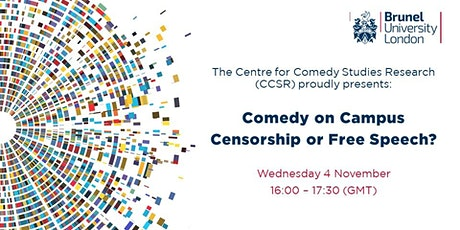 Comedy on Campus: Censorship or Free Speech? tickets