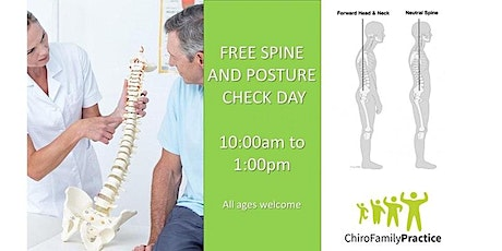 Free Spine Check in Derby | ChiroFamily Practice tickets