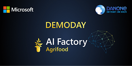 DemoDay AI Factory for Agrifood tickets
