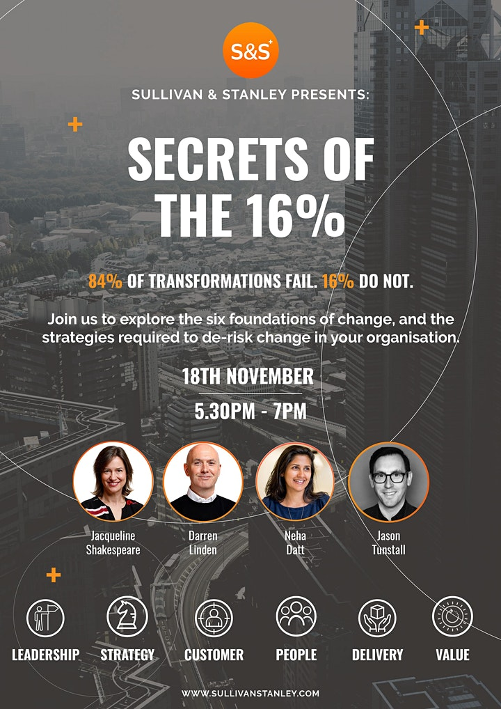 Secrets of the 16% image
