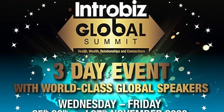 Introbiz GLOBAL SUMMIT tickets