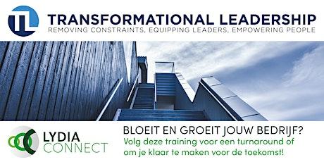 Transformational Leadership (dag) training, 23 en 30 oktober tickets