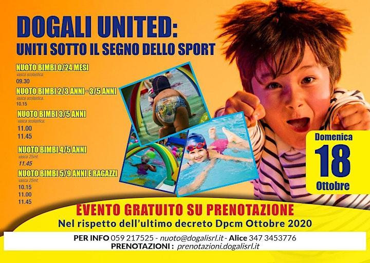 Immagine Dogali United - Uniti sotto il segno dello sport - Scuola Nuoto