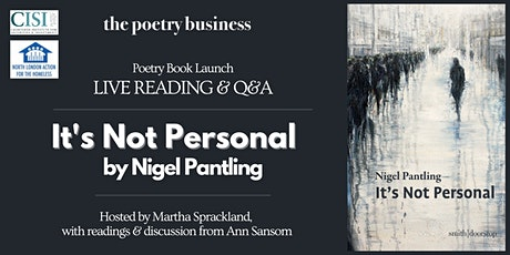 Poetry Book Launch: Nigel Pantling's 'It's Not Personal' tickets