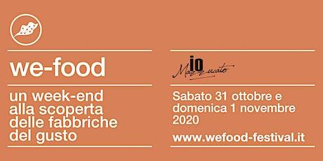 We-Food 2020 @ ioMazzucato biglietti