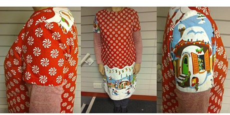 Christmas Camber Dress (Merchant and Mills pattern) tickets