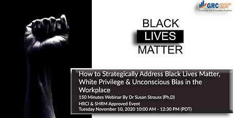 How to Strategically Address Black Lives Matter, White Privilege tickets