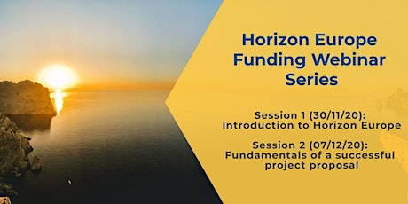 Horizon Europe Webinar Series tickets