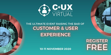 Customer + User Experience Expo tickets
