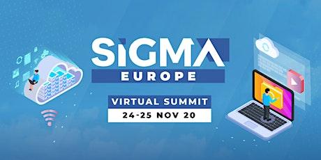 SiGMA Europe Virtual Summit tickets