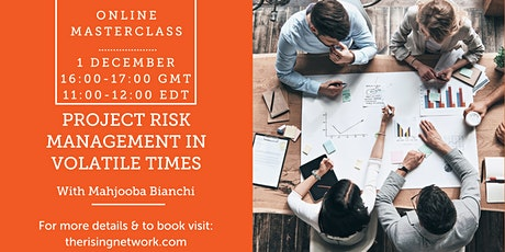 Project Risk Management in Volatile Times tickets