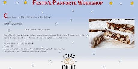 Festive Panforte Workshop tickets