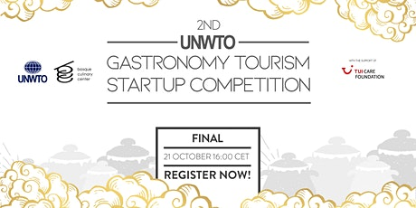 Final of the 2nd UNWTO Gastronomy Tourism Startup Competition tickets
