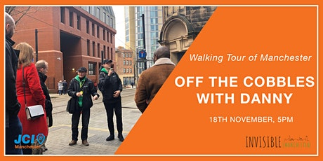 Invisible (Manchester) Walking Tour - Off the Cobbles tickets